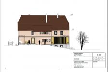 Umbau des Eingangsbereichs am Jugendclub Bochingen