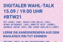 Wahltalk zur Bundestagswahl
